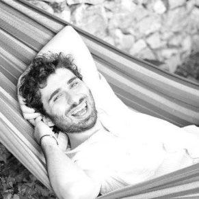 Sidar on a hammock