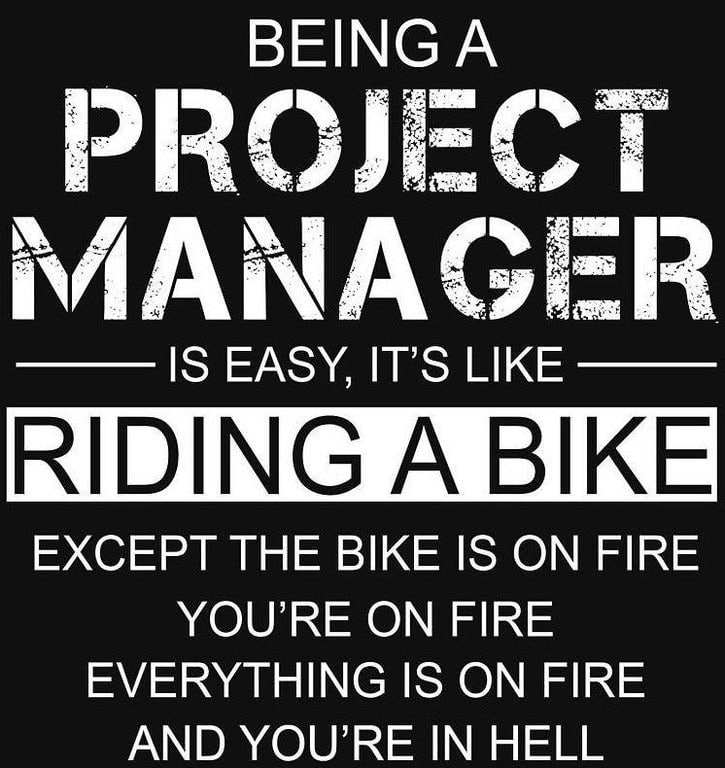 being a pm is as easy as riding a bike