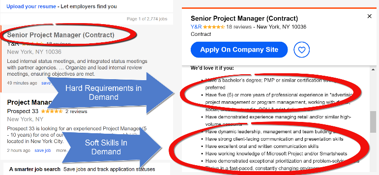 Independent Project Manager looking for new job