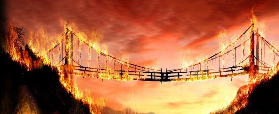 Independent Project Manager understimate your value will bring to a burning bridges